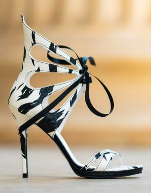 CONDUR by alexandru, Sandale stiletto de piele