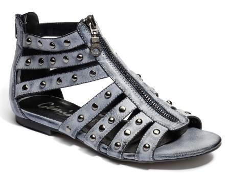 Sandale gladiator cu fermoar