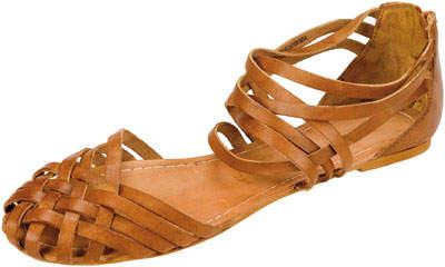 Sandale joase, impletite