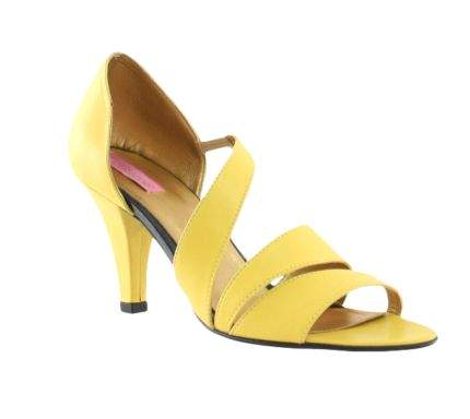 Sandale Two Yellow